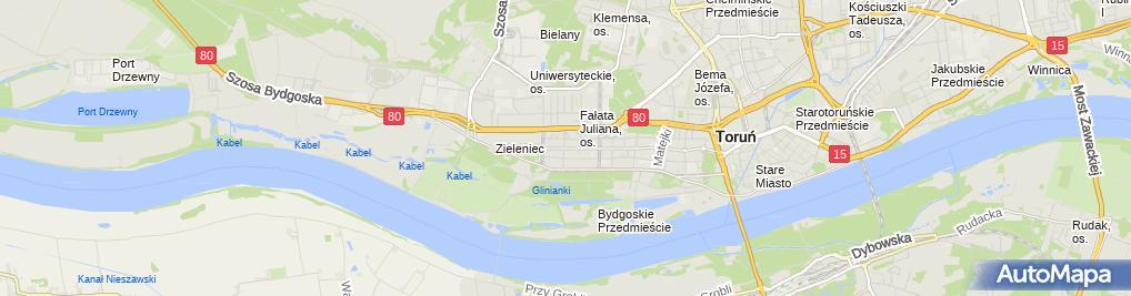 Zdjęcie satelitarne Cukiernia, Piekarnia