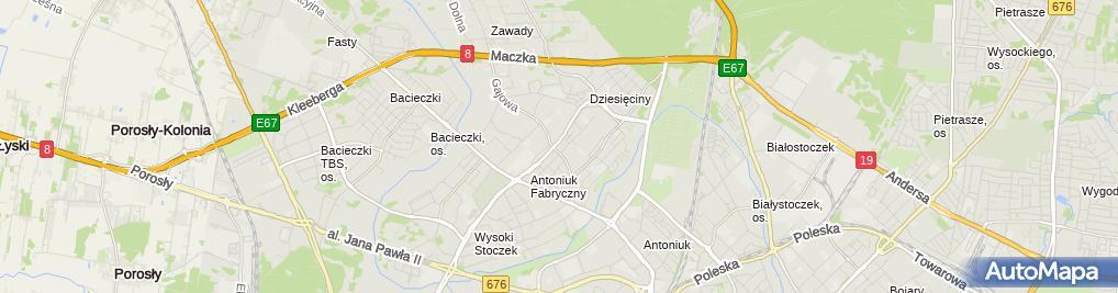 Zdjęcie satelitarne Czembrowski Janusz