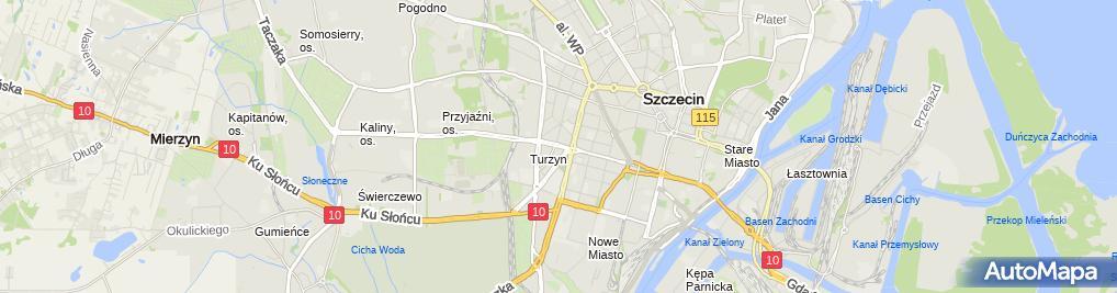 Zdjęcie satelitarne Graczyk