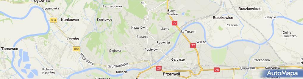 Zdjęcie satelitarne Piekarnia Ciochoń