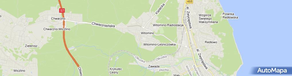 Zdjęcie satelitarne Piekarnia Pajda