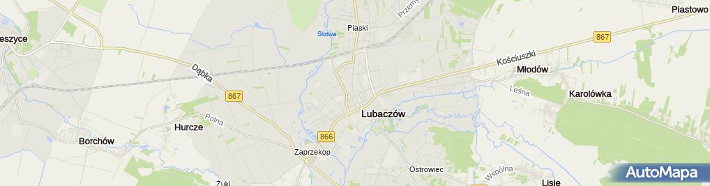 Zdjęcie satelitarne Wyrób i Sprzedaż Ciast Cukierniczych Stefania Sierkowska
