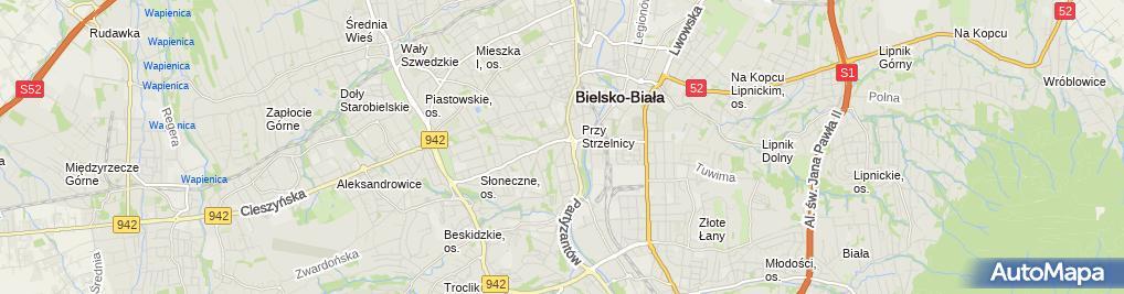 Zdjęcie satelitarne Z.P.H. PRODET Sp. z o.o. Piekarnia nr 1