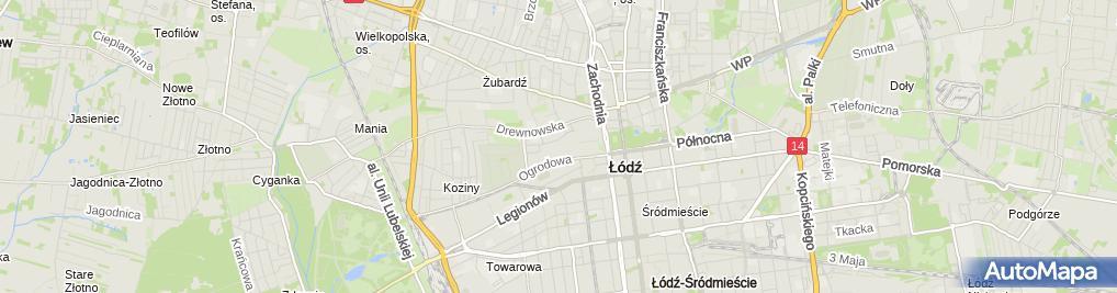 Zdjęcie satelitarne Cukiernia Sowa - Cukiernia