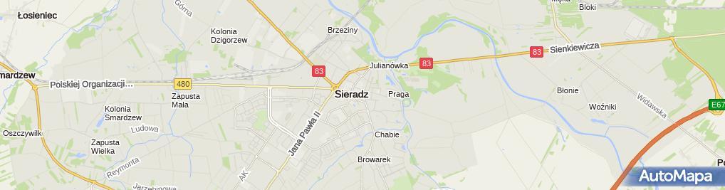 Zdjęcie satelitarne Da Grasso - Pizzeria