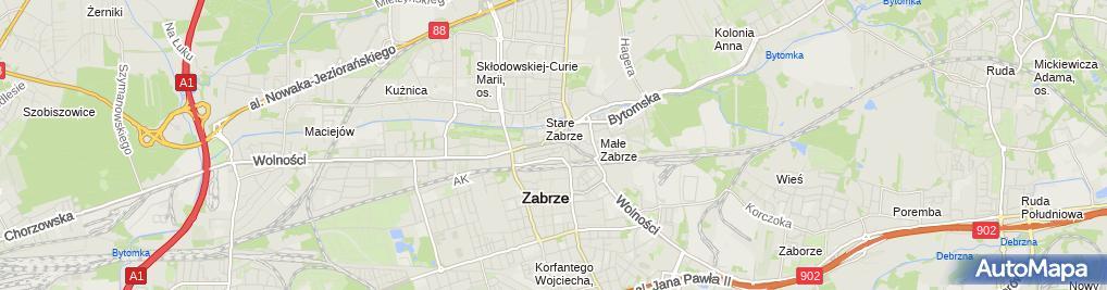 Zdjęcie satelitarne Da Grasso