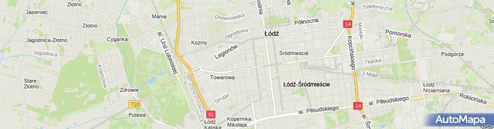Zdjęcie satelitarne Capf Prywatny Gabinet Stomatologiczny