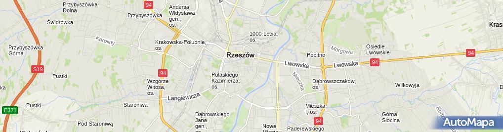 Zdjęcie satelitarne Dentar Agata Maksymowicz Radosław Maksymowicz