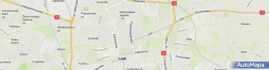 Zdjęcie satelitarne Gabinet Dentystyczny Katarzyna Mirowska