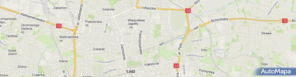 Zdjęcie satelitarne Gabinet Stomatologiczny Kalinka Tarkowska Eleonora