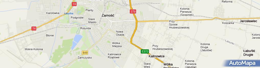 Zdjęcie satelitarne Gabinet Stomatologiczny Usługi
