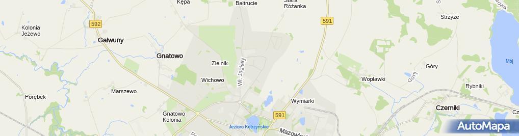 Zdjęcie satelitarne Gabinet Stomatologiczny