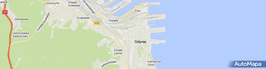 Zdjęcie satelitarne Indywidualna Praktyka Lekarska w Miejscu Wezwania Lekarz Dentysta Anna Szematowicz