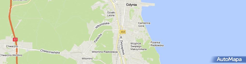 Zdjęcie satelitarne Indywidualna Praktyka Lekarsko-Dentystyczna Przemysław Fiedorczuk