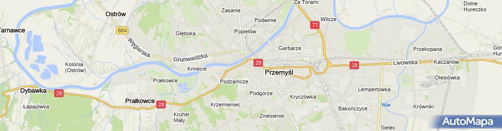 Zdjęcie satelitarne Koszykowska Prywatny Gabinet Stomatologiczny