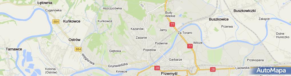 Zdjęcie satelitarne Magdalena Fudali-Walczak Prywatny Gabinet Stomatologiczny