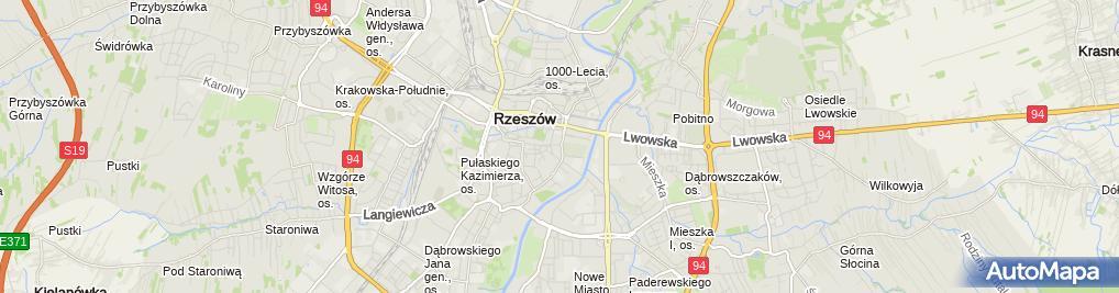 Zdjęcie satelitarne Mazur Ocytko Beata Gabinet Stomatologiczny Duodent