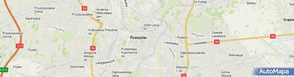 Zdjęcie satelitarne Michał Leja Praktyka Lekarsko-Dentystyczna