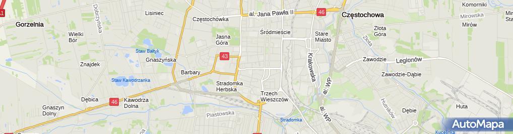 Zdjęcie satelitarne Mident Gabinet Stomatologiczny Renata Daniel Miazga Wojciech Miazga