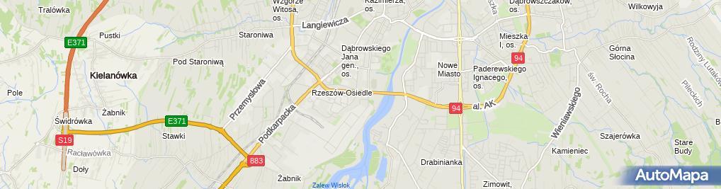 Zdjęcie satelitarne NZOZ Dental Studio Joanna Marczyńska