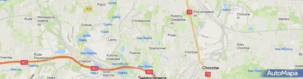Zdjęcie satelitarne Praktyka Stomatologiczna Na Wezwanie Aleksandra Biegańska Podsiadło