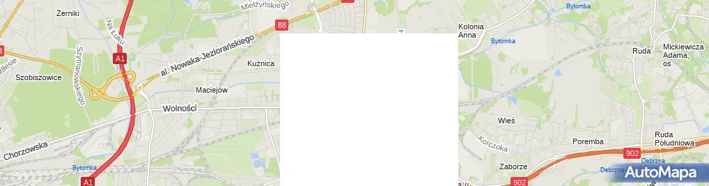 Zdjęcie satelitarne Prywatna Praktyka Stomatologiczna Krzysztof Pluta
