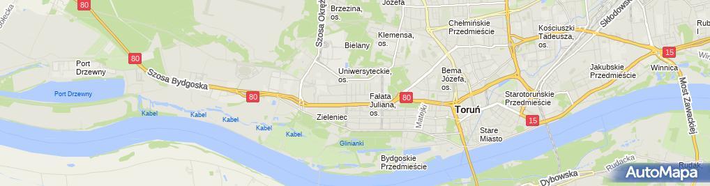 Zdjęcie satelitarne Prywatny Gabinet Stomatologiczny Lekarz Stomatolog