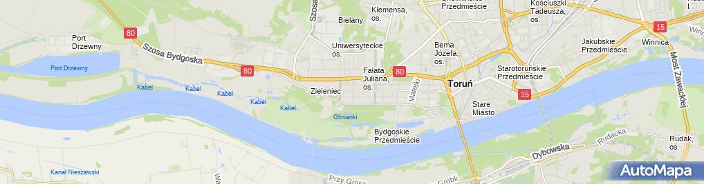 Zdjęcie satelitarne Prywatny Gabinet Stomatologiczny ZZ Dent