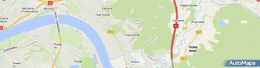 Zdjęcie satelitarne Prywatny Gabinet Stomatologiczny