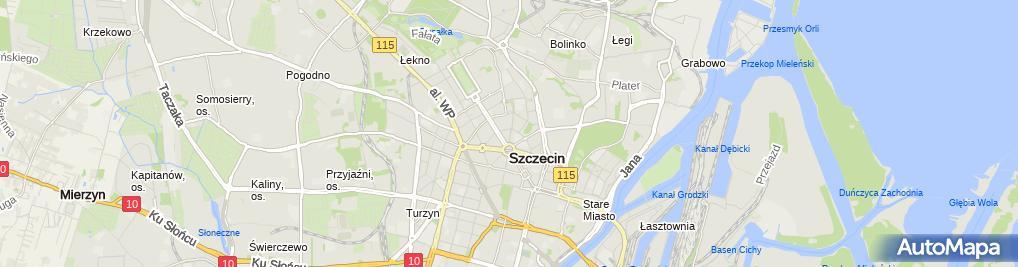 Zdjęcie satelitarne S-Dent Inga Swat Kawczyńska