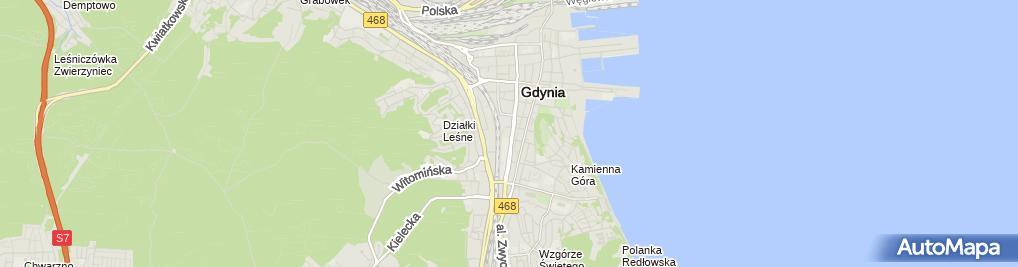 Zdjęcie satelitarne Stomatologa Estetyczna i Implantologia Dr n. Med. Jacek Wyszkows