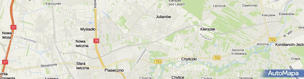 Zdjęcie satelitarne Stomatologia Familijna Nel Balicka-Wspólnik Spółki Cywilnej