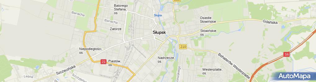 Zdjęcie satelitarne Punkt Pobrań Diagnostyki