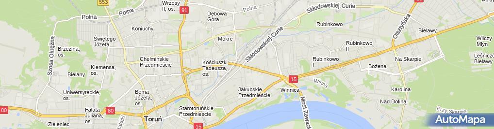 Zdjęcie satelitarne DnB NORD - Oddział