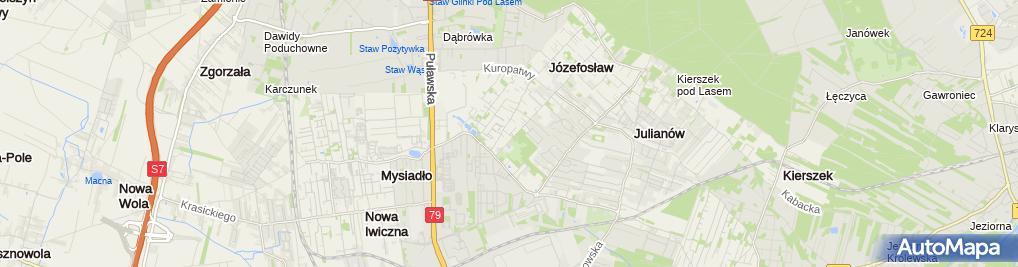 Zdjęcie satelitarne Kryzys Konsulting Grzegorz Kostyra