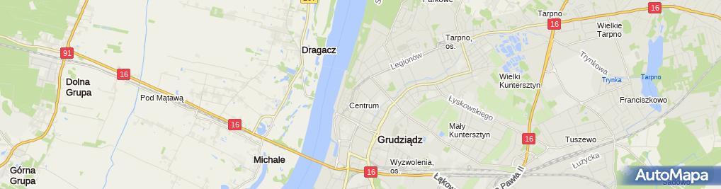 Zdjęcie satelitarne DPD - Punkt odbioru