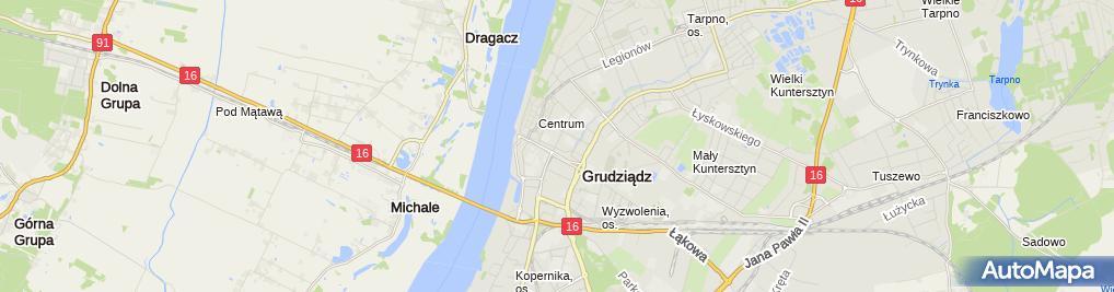 Zdjęcie satelitarne Drogerie Natura - Drogeria