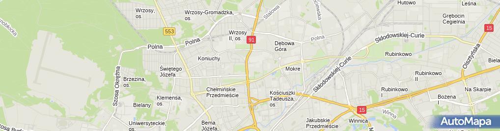 Zdjęcie satelitarne Con-Graph Polska Sp. z o.o.