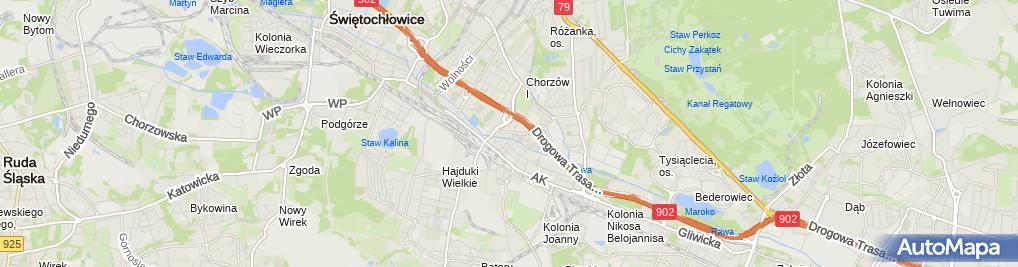 Zdjęcie satelitarne Format D M M S Janczyk Spółka Jawna