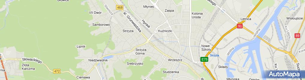 Zdjęcie satelitarne Duka