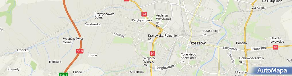 Zdjęcie satelitarne Sklep z zabawkami - Walizkazabawek