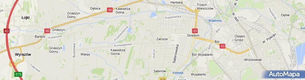Zdjęcie satelitarne Akcesoria i urządzenia serwerowe - Batna24