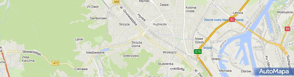 Zdjęcie satelitarne Cezar