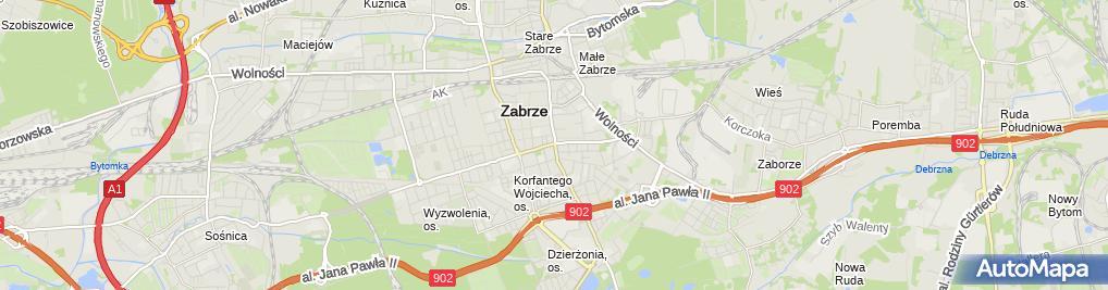 Zdjęcie satelitarne Elektroniczny - Sklep