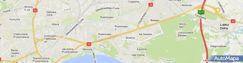 Zdjęcie satelitarne POLTRONEX
