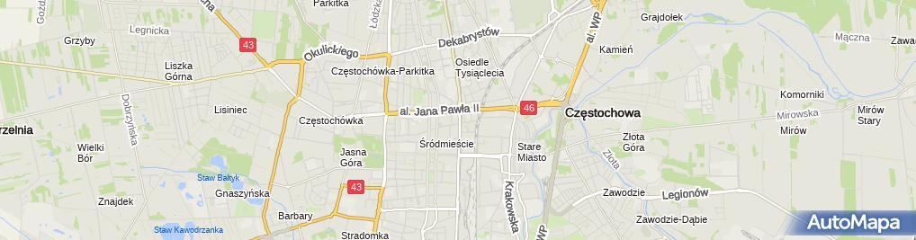 Zdjęcie satelitarne Sklep Elektroniczny