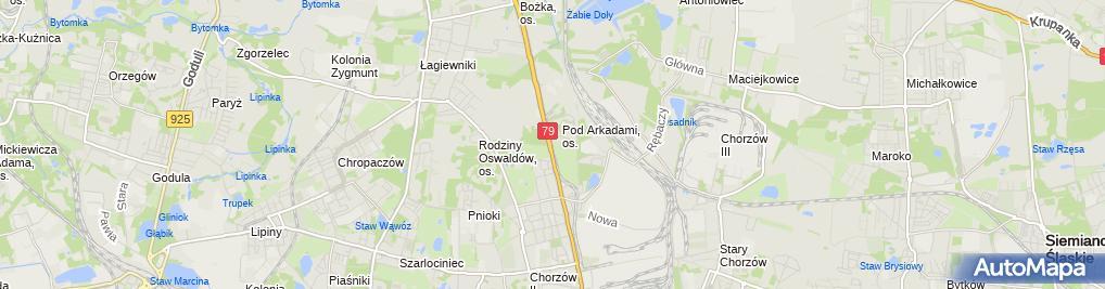 Zdjęcie satelitarne Zadowolenie.pl