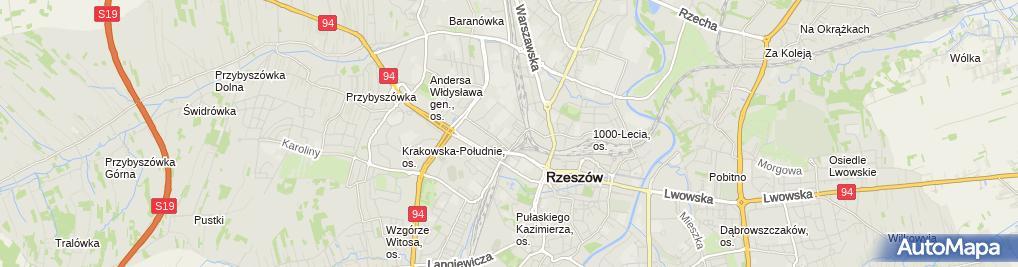 Zdjęcie satelitarne Kaczor Barbara, Mała Elektrownia Wodna Pilzno Barbara Kaczor Nazwa Skrócona: Kaba