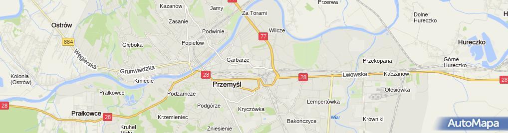 Zdjęcie satelitarne Grodno