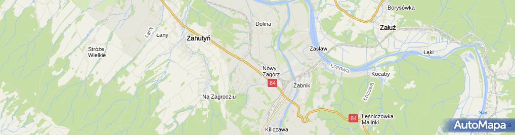 Zdjęcie satelitarne Elektro TECHNIKA Krzysztof Wrona